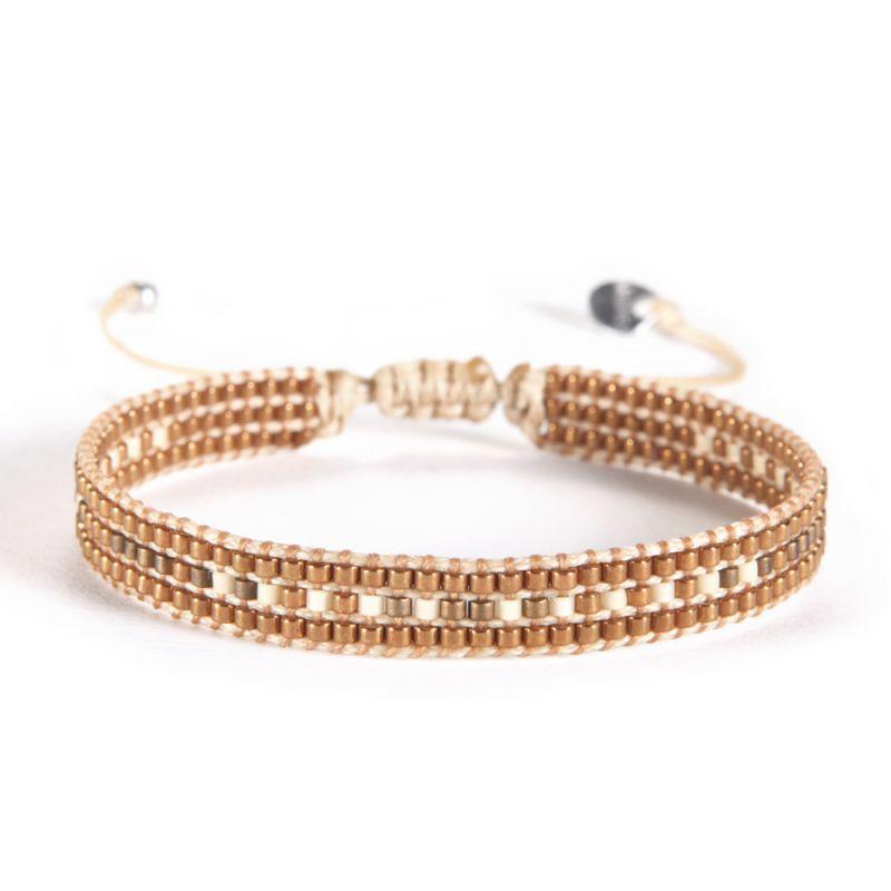 Bracelet TRACK BROWN